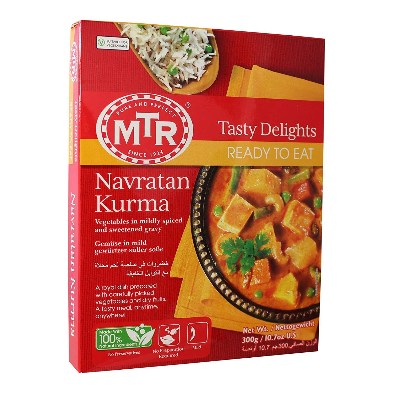 MTR Ready to Eat Navratan Kurma - 300 G