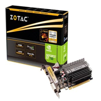 Nvidia GeForce, Graphic Cards, PC Components, Zotac, Zotac Nvidia GeForce GT730 4GB DDR3 PCI-E Graphics Card
