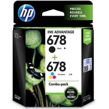 HP, Cartridges and toners, Computer Accessories, HP, HP 678 Black & Tricolor Combo Pack - LOS24AA