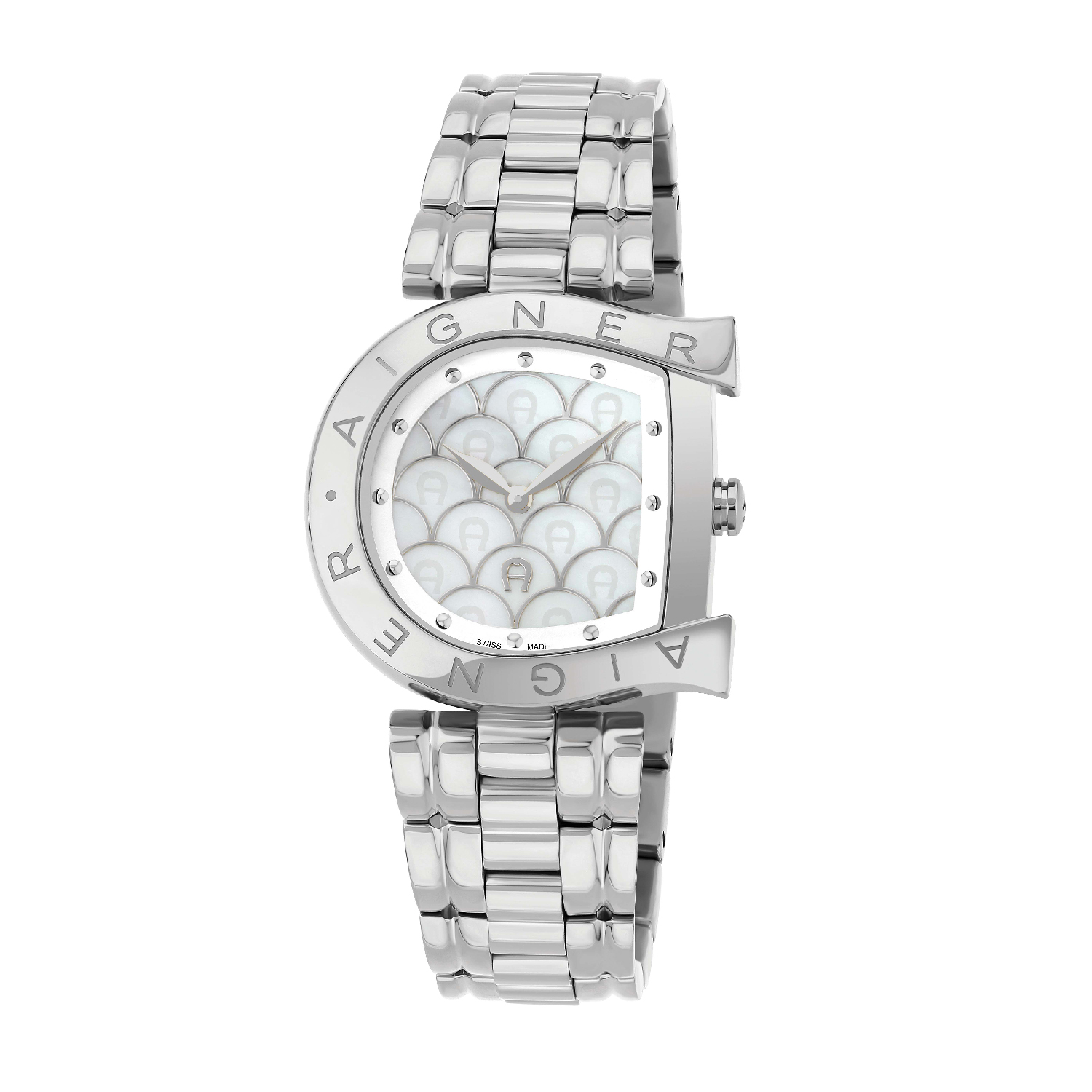 Non Diamond Watches Aigner Womens Arco Watch A34326 For Women