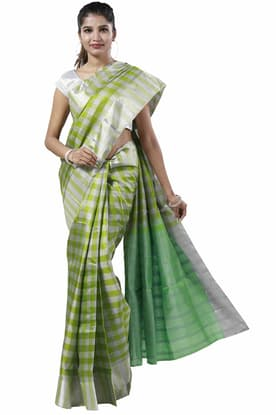 ba646a9256 Gorgeous Vibrant-Green Light Weight Silk Saree SPSA180088 has been added to your  wishlist already exists in your wishlist