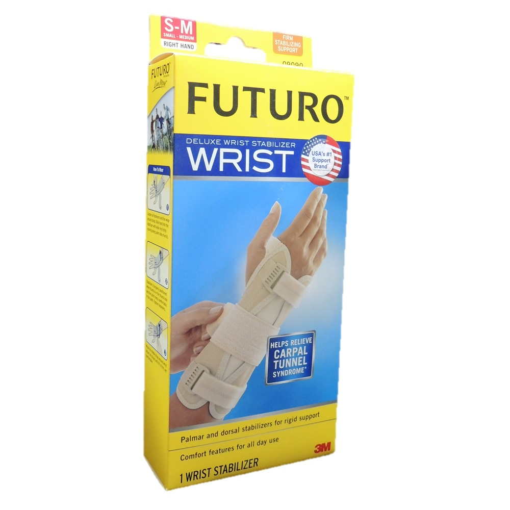 Futuro Deluxe Wrist Stabilizer Right Hand Small-Medium