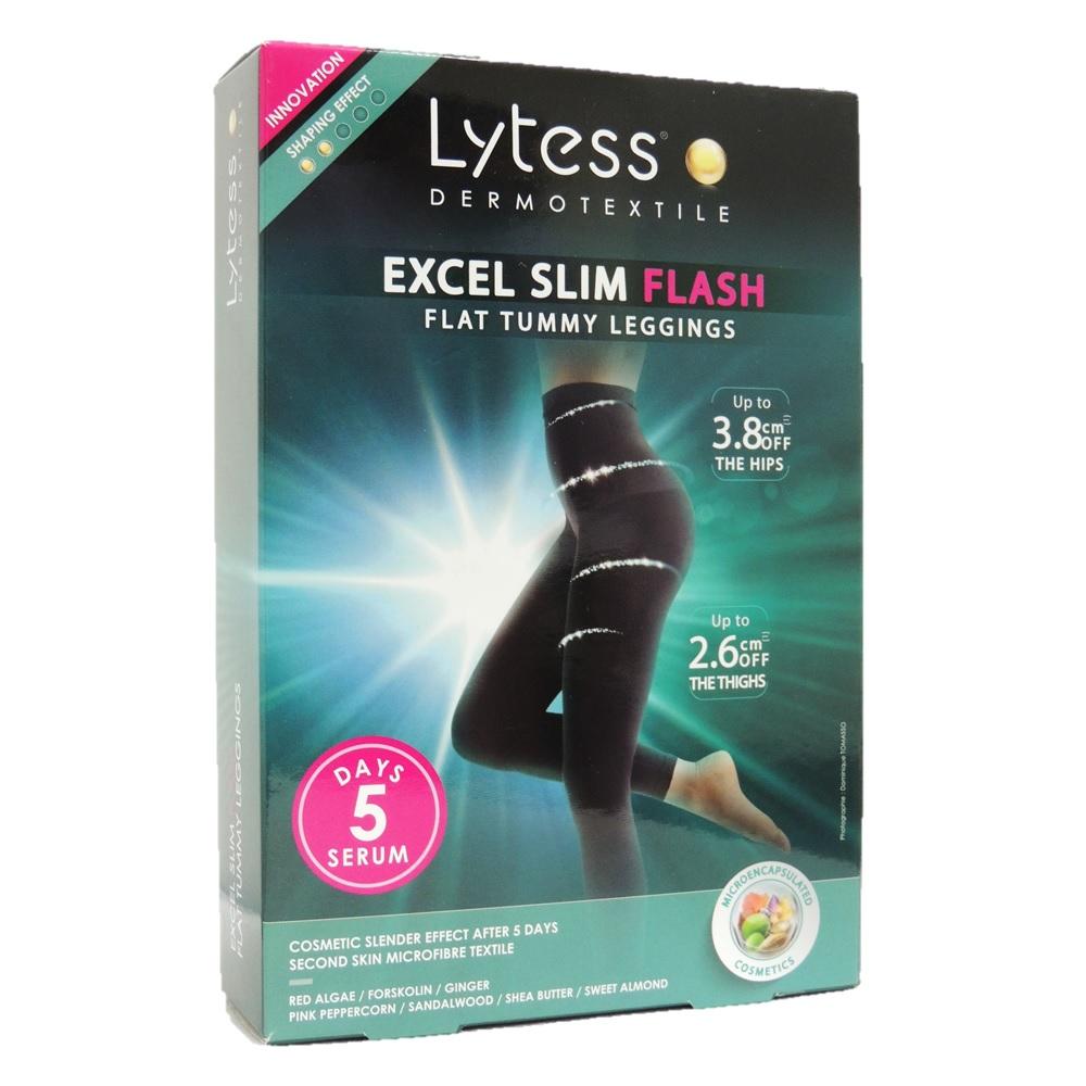 74c26ac3f170e Slim Shorts, Lytess Excel Slim Flash Flat Tummy Leggings Black S/M PF00760A