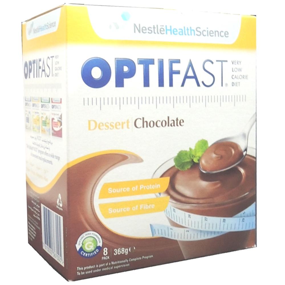 Nestle Optifast Dessert Chocolate Sachets 8 S