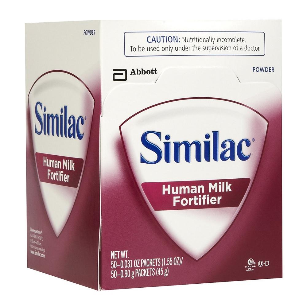 Similac Human Milk Fortifier Powder 0 9 g 50's