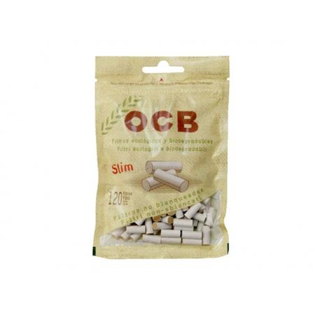 OCB, SMOKING ROLLING PAPER, ROLLING PAPER, Little Goa, OCB Organic Hemp Slim Unbleached Filter ,