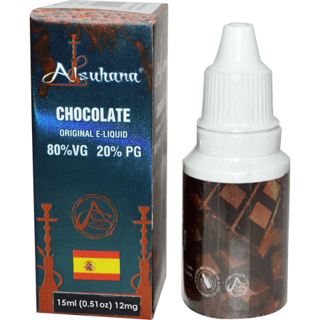 ALSUHANA E-LIQUID FLAVOUR, E-LIQUID, VAPE, Little Goa, 12mg Chocolate ALSUHANA E-Liquid Flavour