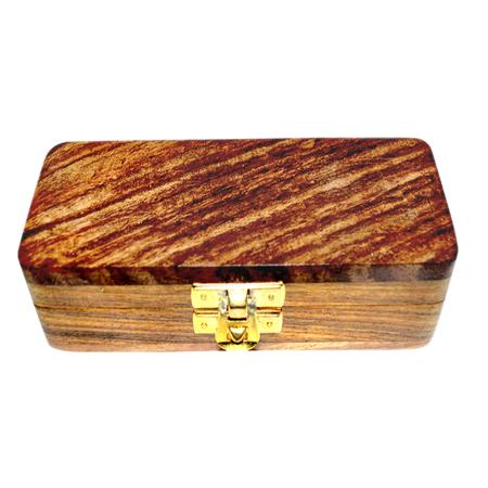SECRETE STASH BOX, SMOKING ACCESSORIES, OTHERS, Little Goa, Brown Color Simple Wooden Stash Box-6.5 Inch