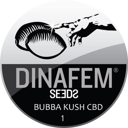 SEEDS, Little Goa, Dinafem Bubba Kush CBD Feminized Seeds (Pack Of 1 Seed)