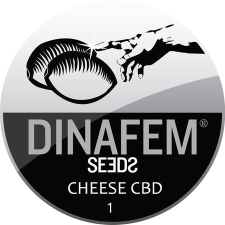 SEEDS, Little Goa, Dinafem Cheese CBD Feminized Seeds (Pack Of 1 Seed)