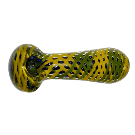 GLASS SMOKING PIPE, PIPES, Little Goa, Little Goa 12 cm Inside Glass Smoking Pipe - Multicolor