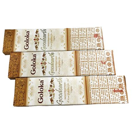 INCENSE STICKS, RASTA STUFF, OTHERS, Little Goa, Goloka GoodEarth Incense Stick(Pack Of 3)