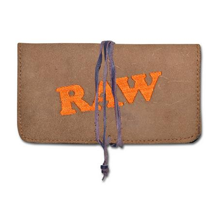 BAG, RASTA STUFF, OTHERS, Little Goa, Raw Leather Tobacco Pouch
