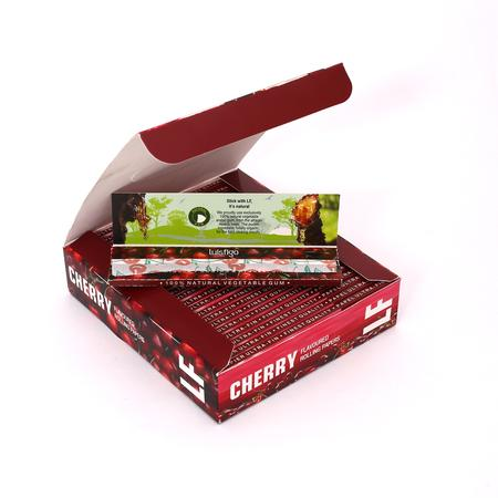 Lusifigo Cherry Flavoured Rolling Paper(Pack Of 1)