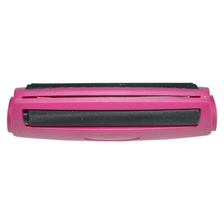 ROLLING MACHINE, ROLLING PAPER, Little Goa, Pink Color Plastic Rolling Machine- 90 mm