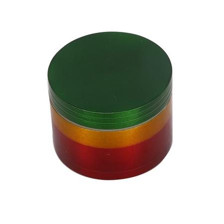 Rasta 4 Part Metal Herb Grinder-50 mm Online