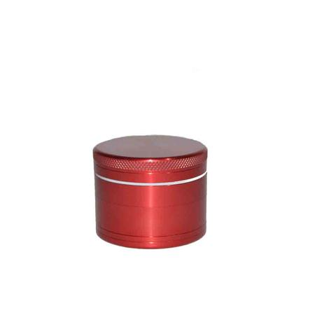 METAL GRINDER, HERB GRINDER, Little Goa, Red Color 4 Part small Size Metal Herb Grinder-45 mm