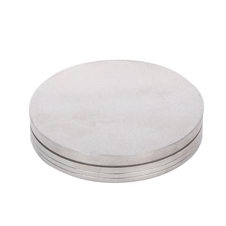 Silver Metal Two Part Herb Grinder-100 mm Online