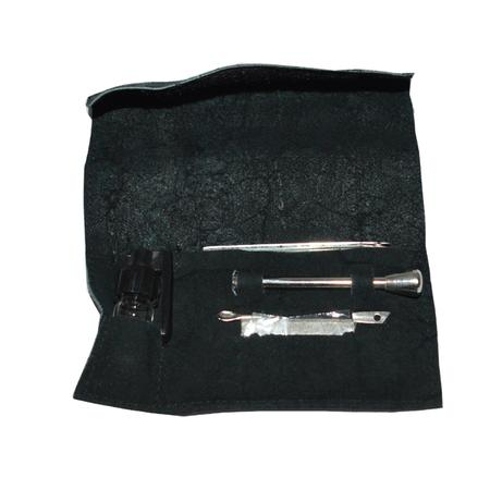 SNIFFER PIPE, PIPES, Little Goa, Sniffer Leather Kit
