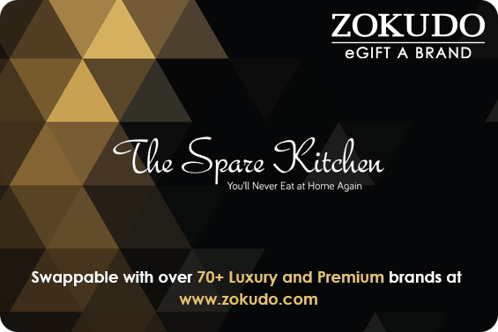 Luxuries, ItzGift, Zokudo, Zokudo - The Spare Kitchen Gift Card