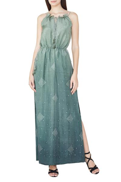 Dresses, Clothing, Carma, Sage ombre dyed maxi dress ,  ,  ,