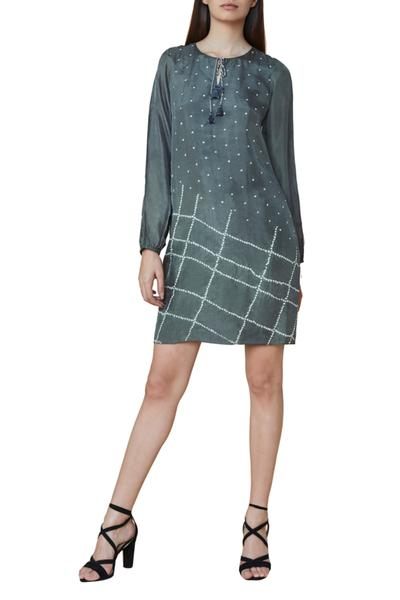 Dresses, Clothing, Carma, Grey geometric pattern dress ,  ,  ,