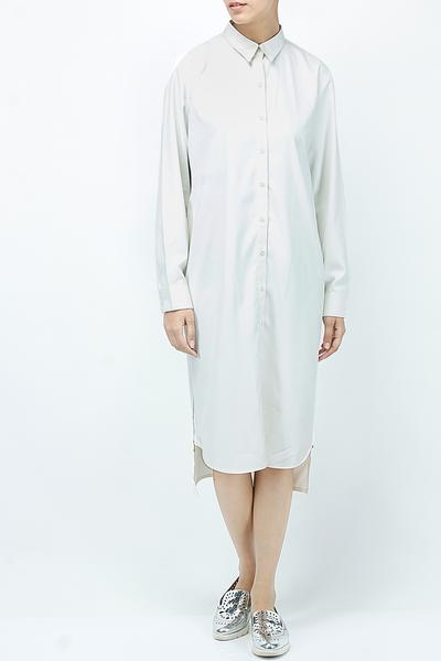 Dresses, Clothing, Carma, White side zip solid dress ,  ,  ,