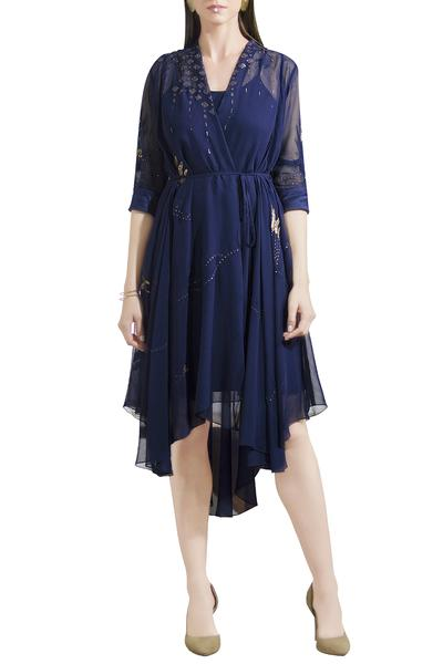 Dresses, Clothing, Carma, Navy Blue Dress ,  ,