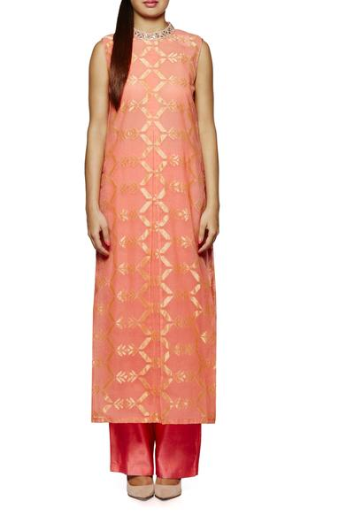 Suits, Clothing, Carma, Subdued Peach Kurta Set ,  ,