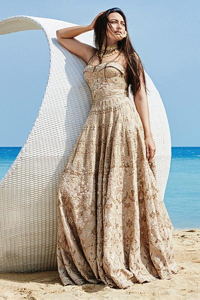 Gowns, Clothing, Carma, The Masura Gown as seen on Sonakshi Sinha ,  ,  ,