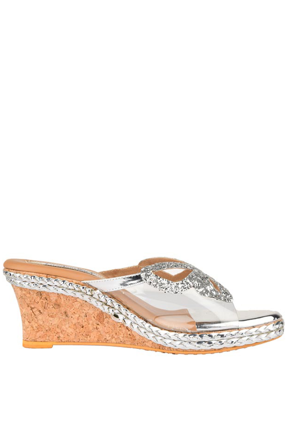 Silver Butterfly Wedges