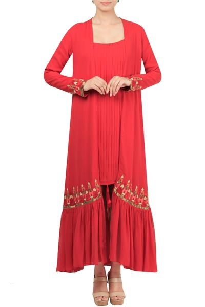 Dresses, Clothing, Carma, Red dress with jacket ,  ,