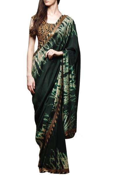 Sarees, Sarees, Clothing, Carma, Bottle neck dori work shibori saree ,  ,