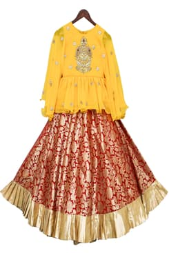 ba9c55184d Indian Designer Kids Wear Dresses for Wedding and Party Occasions ...