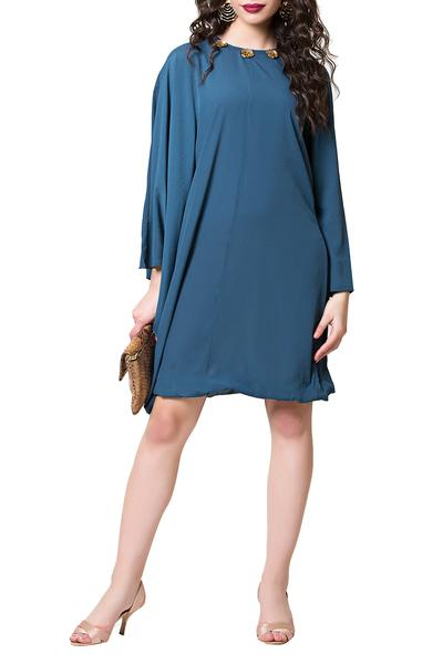 Dresses, Clothing, Carma, Blue Kaftan Dress ,  ,