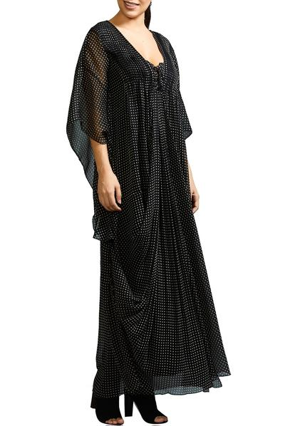 Dresses, Clothing, Carma, Black dot kaftan dress ,  ,  ,