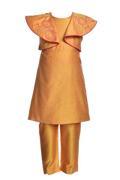 Girls, Kids, Carma, Mustard tunic with pants