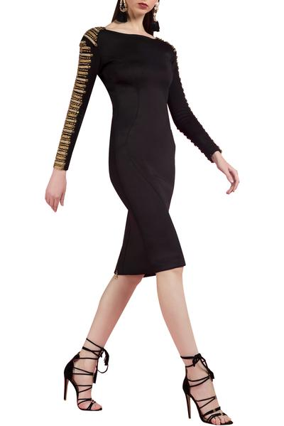 Dresses, Clothing, Carma, Black embellished dress