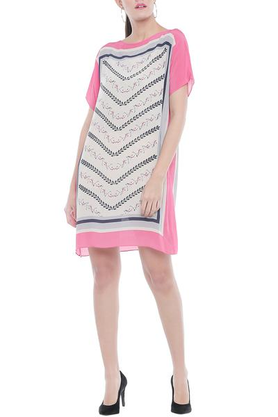 Dresses, Clothing, Carma, Multicolor printed short dress ,  ,