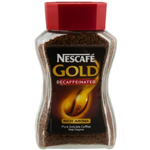 Coffee, Tea & Coffee, Beverages, Nan, Nestle Nescafe Gold Decaffeinated 100 Gm