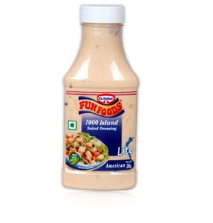 Other Spreads, Jams & Spreads, Branded Foods, Fun Foods, Fun Foods Salad Dressing - 1000  Island