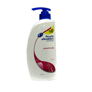 Hair Shampoo, Hair Care, Toiletries, Head & Shoulders, Head & Shoulders Shampoo - Smooth & Silky