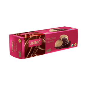 Cookies, Biscuits, Branded Foods, Unibic, Unibic Cookies - Choco Kiss