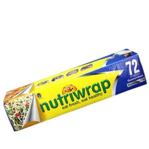 Foil / Film / Bag / Gloves and More, Kitchen Care, Household, NUTRIWRAP, Nutriwrap Aluminium Foil 72 Mtr