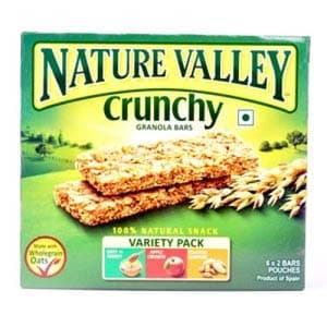 Flakes Cereals, Breakfast Cereals, Branded Foods, Others, Nature Valley Crunchy 252 Gm