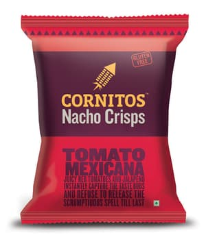 Corn Snacks, Veg Snacks, Branded Foods, Cornitos, Cornitos Nacho Crisps Tomato Mexicana