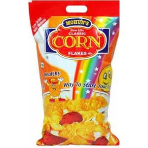 Flakes Cereals, Breakfast Cereals, Branded Foods, Mohan, Mohan Corn Flakes