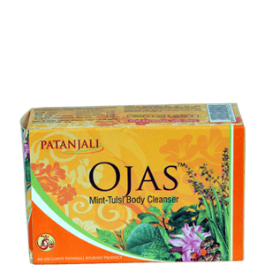 Body Care, Patanjali Products, Patanjali, Patanjali Ojas Mint Tulsi Body Cleanser Soap
