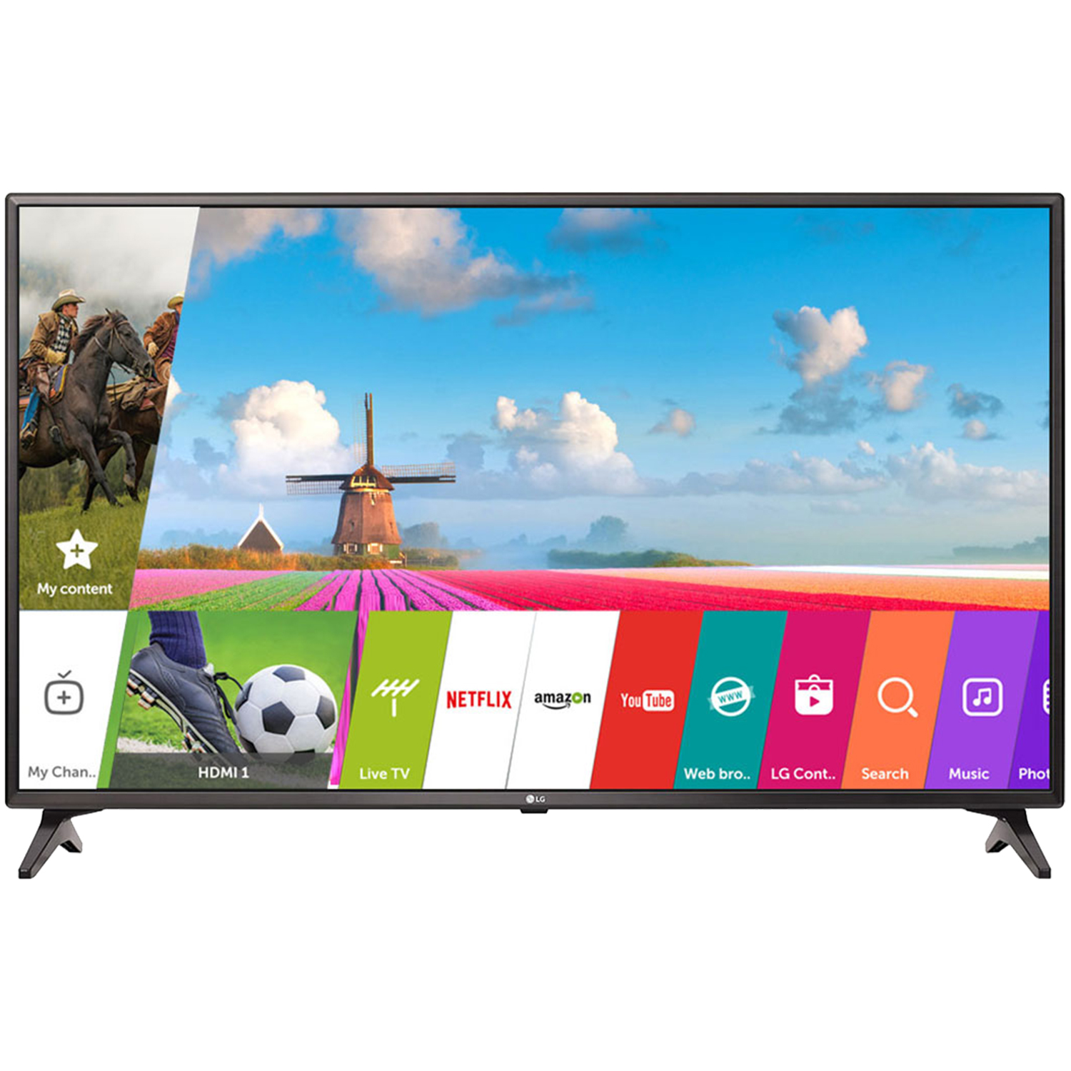 Smart & UHD, LG 43 inch 43LJ554T Full HD Smart Led TV