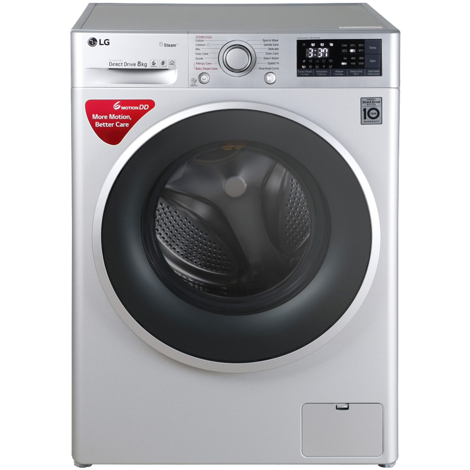Front loading, LG 8 kg FHT1208SWL Fully Automatic Front loading